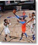 Oklahoma City Thunder v Boston Celtics Metal Print