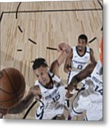 Oklahoma City Thunder v Memphis Grizzlies Metal Print
