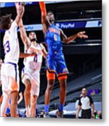 Oklahoma City Thunder v Phoenix Suns Metal Print