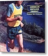 Oregon Steve Prefontaine Sports Illustrated Cover Metal Print