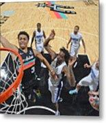 Orlando Magic vs. San Antonio Spurs Metal Print