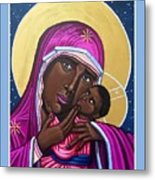 Our Lady Mother of the Streets Metal Print