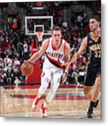 Pat Connaughton and Georges Niang Metal Print