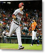Pat Neshek and Jake Lamb Metal Print