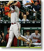 Pat Neshek and Welington Castillo Metal Print