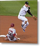Paul Goldschmidt and Troy Tulowitzki Metal Print