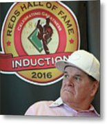 Pete Rose Metal Print