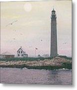 Petit Manan Lighthouse Metal Print