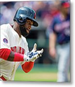 Phil Hughes and Abraham Almonte Metal Print