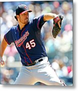 Phil Hughes Metal Print