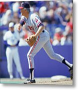Phil Niekro Metal Print