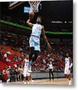 Philadelphia 76ers v Miami Heat Metal Print