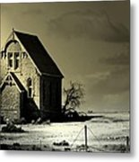 Praying for Rain Metal Print