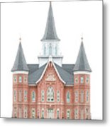 Provo City Center Temple - Celestial Series Metal Print