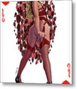 Queen of Hearts  Metal Print