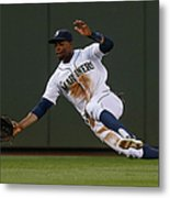Raul Ibanez and James Jones Metal Print
