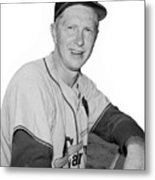 Red Schoendienst Metal Print