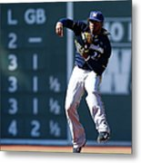 Rickie Weeks Metal Print