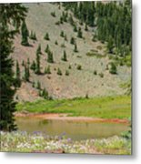Ridge Lakes #2 Metal Print