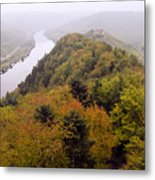 River Moselle in Autumn Metal Print
