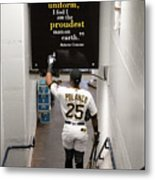 Roberto Clemente and Gregory Polanco Metal Print