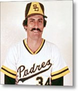 Rollie Fingers Metal Print