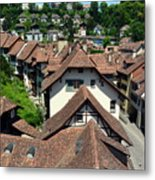Rooftops of Medieval Bern, Switzerland Metal Print