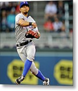Rougned Odor and Aaron Hicks Metal Print