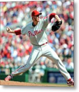 Roy Halladay Metal Print