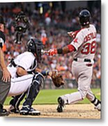 Rusney Castillo Metal Print