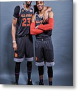 Russell Westbrook and Anthony Davis Metal Print