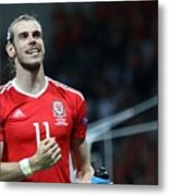 Russia v Wales - EURO 2016 Metal Print