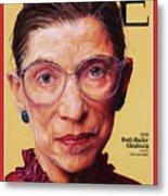 Ruth Bader Ginsburg, 1996 Metal Print