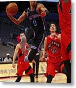 Sacramento Kings v Toronto Raptors Metal Print
