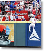 Scott Schebler And Jon Jay Metal Print