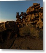 Shaped by the Elements Metal Print