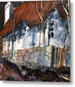 Sherwood Forest Cottage Metal Print