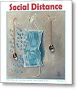 Social Distance poster #2 Metal Print