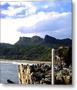 South Point Okinawa Look In Metal Print