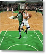 Stephen Curry and Gerald Green Metal Print
