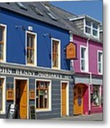 Strand Street in Dingle Ireland Metal Print