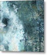 Summer Storm- Abstract Art by Linda Woods Metal Print