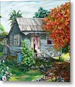 Sweet Tobago Life.  2 Metal Print