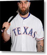 Texas Rangers Photo Day Metal Print