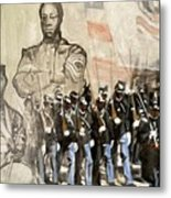 The 54th Massachusetts Metal Print