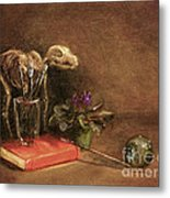 The Artist's Taboret- Cave Canum Metal Print