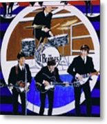 The Beatles - Live On The Ed Sullivan Show Metal Print