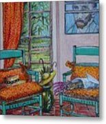 The Colors of Vincent van Gogh Metal Print