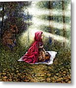 The Fate Of Little Red Riding Hood Part Two Metal Print