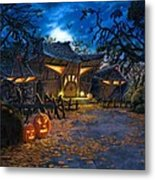 The House At Dead End Metal Print